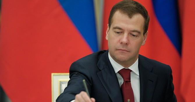 Thủ tướng Nga ký thỏa thuận về khu vực thương mại tự do EAEC - Việt Nam