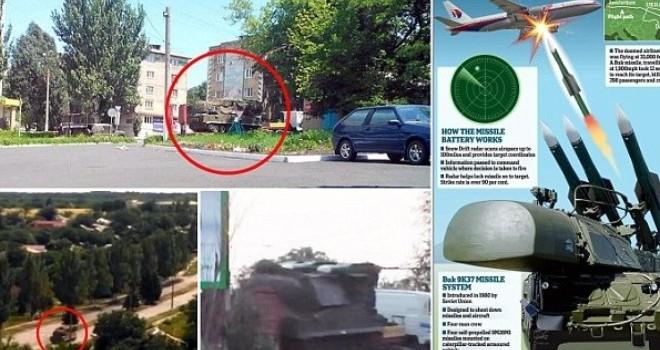 Báo Nga: Tổ hợp tên lửa Buk-M1 đã bắn hạ MH17 ở Đông Ukraine