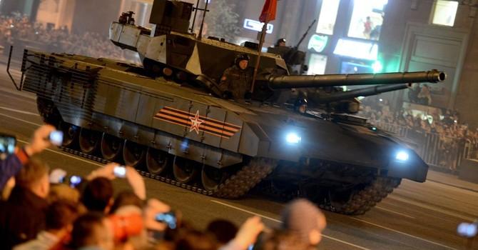 Quân đội Ấn Độ có thể sớm mua xe tăng Armata của Nga