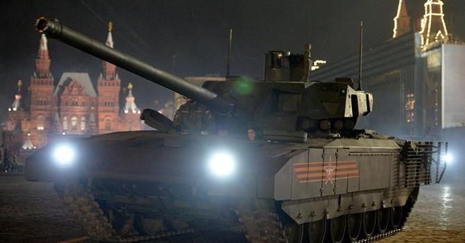 """""""Siêu"""" tăng đời mới của Nga chống mọi tên lửa chống tăng?"""