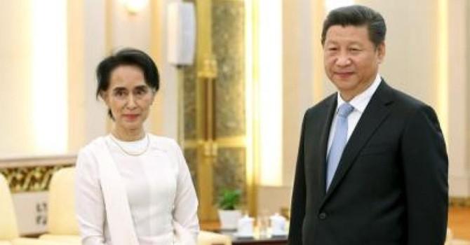 """Trung Quốc dùng bà Suu Kyi để """"dằn mặt"""" ông Thein Sein?"""
