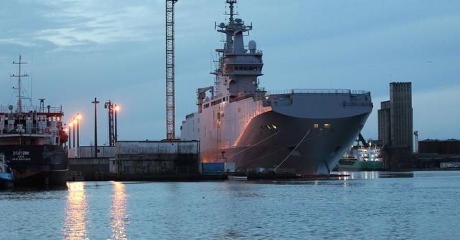 Pháp đã chuyển cho Nga một phần công nghệ đóng Mistral