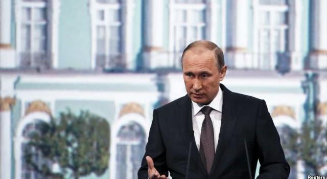 """Ông Putin: """"Nga không hung hăng và bị phương Tây chèn ép"""""""