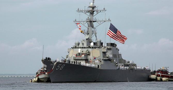 Hoa Kỳ điều tàu khu trục USS Laboon đến Gruzia để răn đe Nga