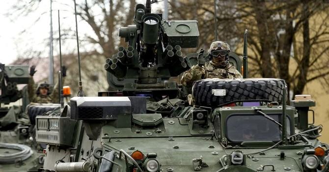 """Hoa Kỳ muốn thêm lính điều tới Châu Âu nếu có """"tình huống xấu"""" với Nga"""