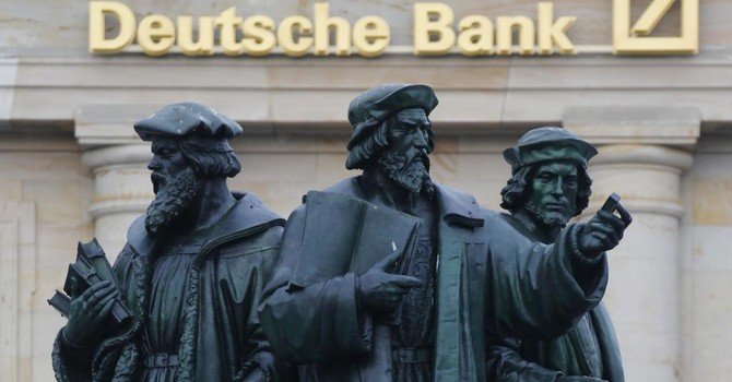 Mỹ điều tra ngân hàng Deutsche Bank vì nghi rửa tiền của Nga