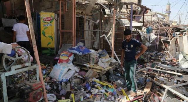 115 người thiệt mạng trong vụ nổ bom tự sát ở Iraq