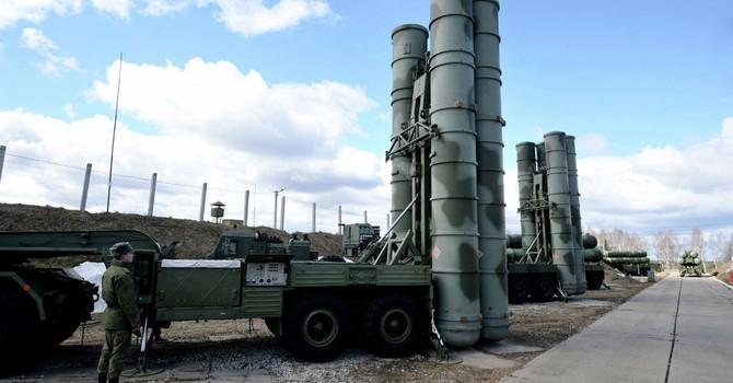 Lộ ảnh hệ thống tên lửa S-400 hiện đại nhất của Nga ở Algeria