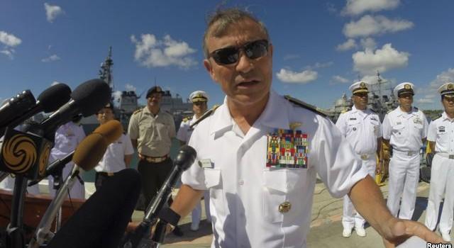 """Đô đốc Hoa Kỳ """"lệnh"""" cho Bắc Kinh phải ngưng ngay việc xây đảo ở Biển Đông"""
