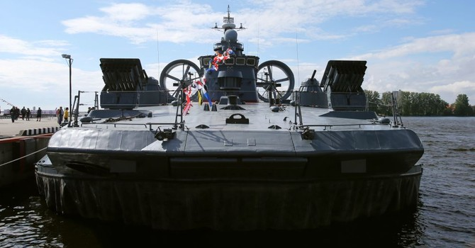 Tư lệnh Hải quân: Nga đang chế tạo tàu đổ bộ mới cỡ lớn