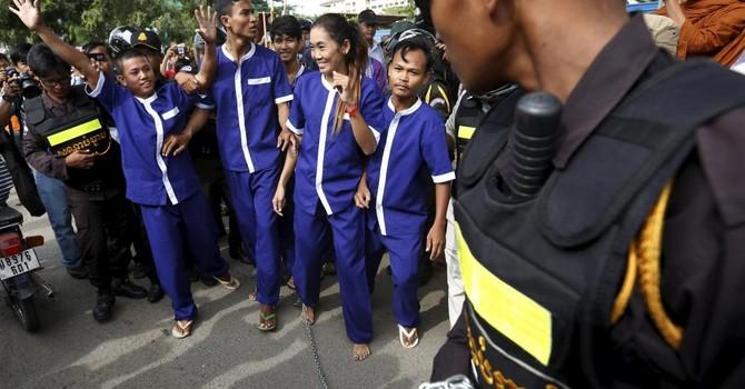 Chính quyền Campuchia bắt 6 người biểu tình bất hợp pháp