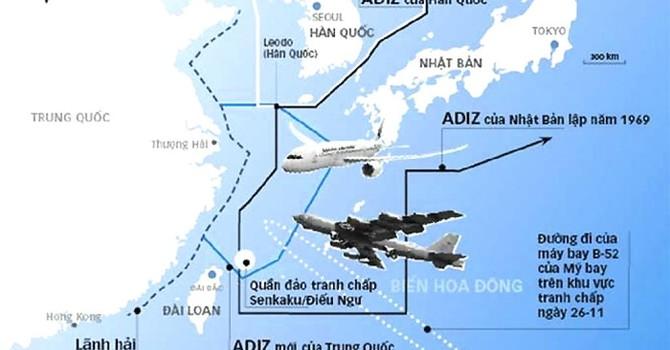 Vùng nhận diện phòng không: Trung Quốc ngang nhiên chặn máy bay dân dụng Lào