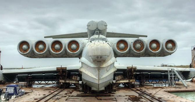 """Nga nối lại sản xuất """"quái vật biển"""" Ekranoplan"""