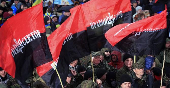 Pravyi Sector che giấu thành viên tham gia vụ nổ súng tại Mukachevo