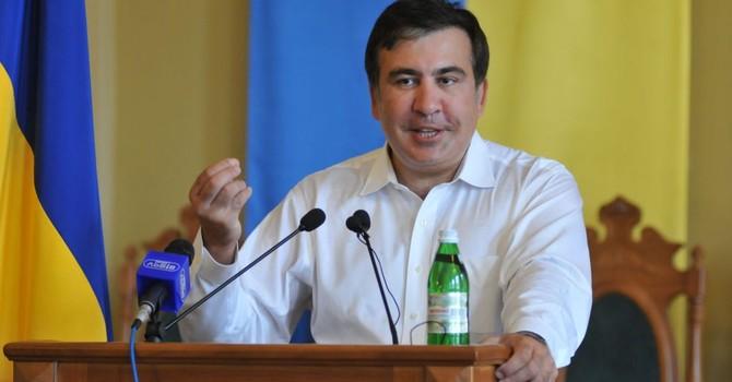 """Ông Saakashvili hứa giành """"con đường tơ lụa"""" từ Nga"""
