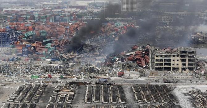 Trung Quốc: 104 người chết ở Thiên Tân, người dân phẫn nộ
