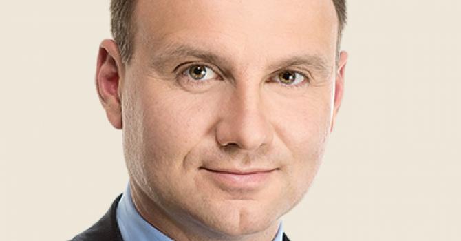 """Tân Tổng thống Ba Lan """"ủng hộ cuộc tranh đấu chính nghĩa của Ukraine"""""""