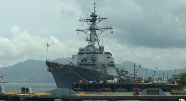"""Philippines sẽ mở căn cứ quân sự ở Vịnh Subic để """"đấu"""" với Trung Quốc"""