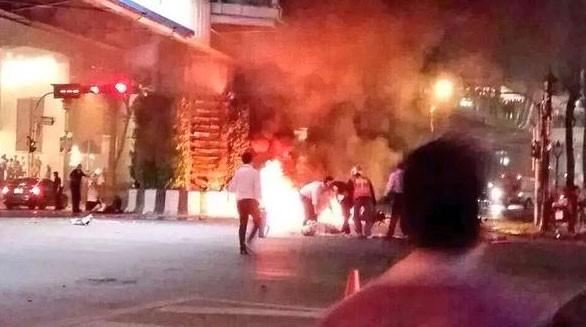 Nổ bom tại trung tâm Bangkok, ít nhất 16 người chết