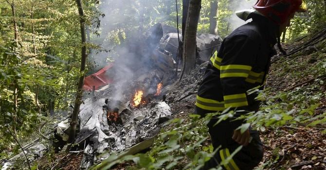 2 máy bay bị rơi ở Slovakia, 7 người thiệt mạng