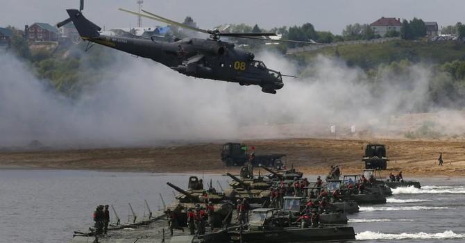 Tập trận Nga-Trung: Bắc Kinh không giấu ý đồ chống Mỹ-Nhật?