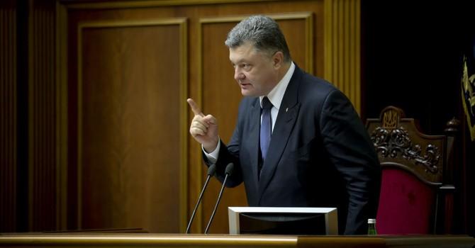 Ông Poroshenko khẳng định sẽ không có liên bang hóa hay qui chế đặc biệt ở Ukraine