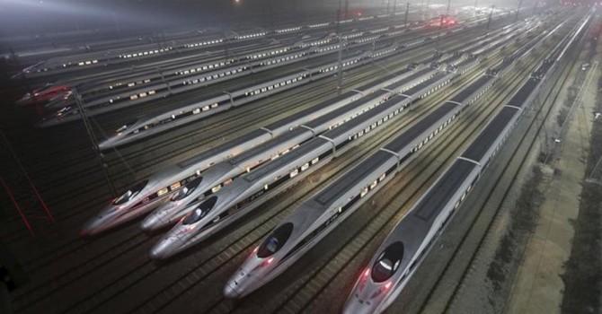 Trung Quốc khai trương tuyến tàu cao tốc đến sát biên giới Triều Tiên