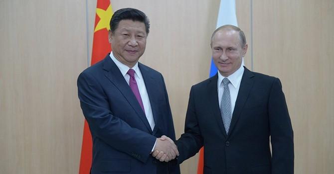 """Thăm Trung Quốc, ông Putin có thể ký nhiều hợp đồng """"khủng"""""""