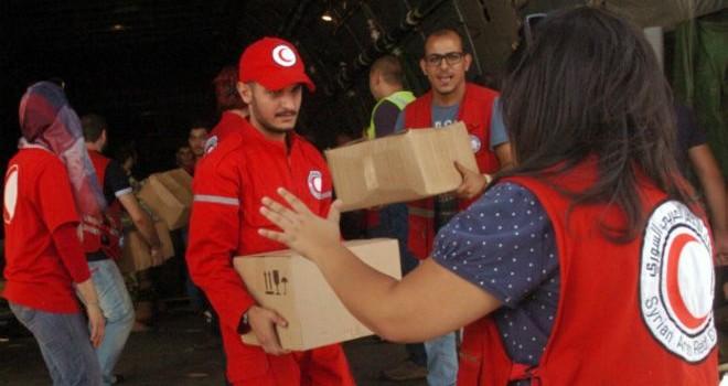 Nga gửi hàng cứu trợ tới Syria