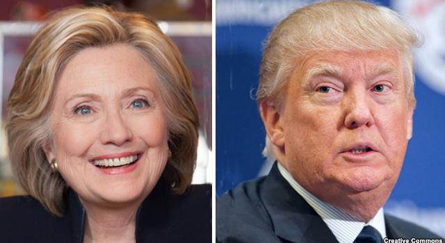 """Cuộc đua vào Nhà Trắng: Ông Trump thắng lớn, bà Clinton """"hụt hơi"""""""