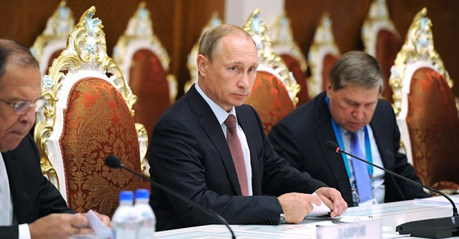 """Ông Putin: """"Nếu Nga không ủng hộ Syria thì tình hình sẽ tồi tệ hơn cả Libya"""""""