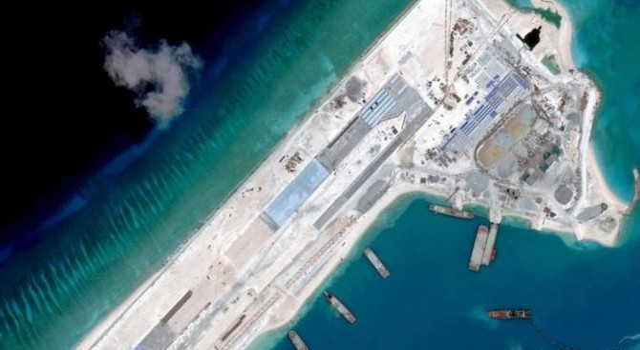 CSIS: Trung Quốc đang xây dựng đường băng thứ 3 ở biển Đông