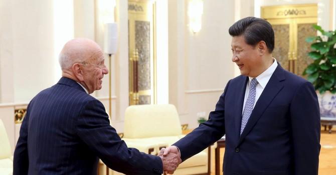 """Chủ tịch Trung Quốc tiếp """"ông trùm"""" truyền thông Mỹ: Tín hiệu mới?"""
