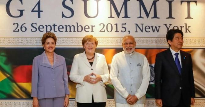Đức đề nghị mở rộng Hội đồng Bảo an cho Đức, Nhật, Ấn và Brazil