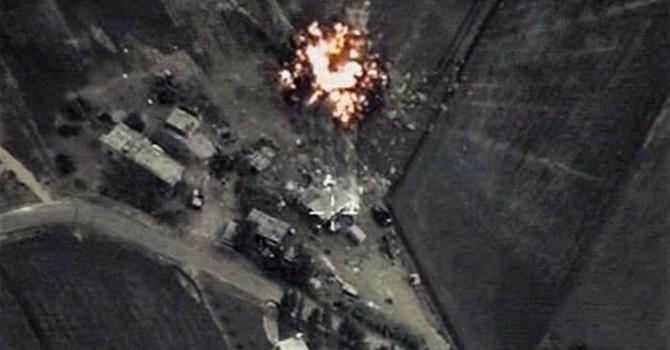 Máy bay Nga phá hủy nhà máy ở Syria