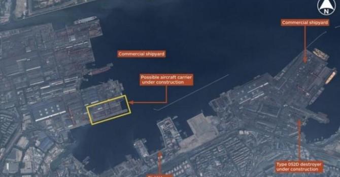 Reuters: Trung Quốc tự đóng hàng không mẫu hạm đầu tiên