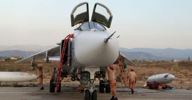 Không quân Nga sử dụng tên lửa chính xác cao X-29L thả xuống Syria