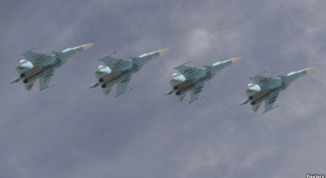 Nga tiếp tục tiến hành chiến dịch không kích ở Syria
