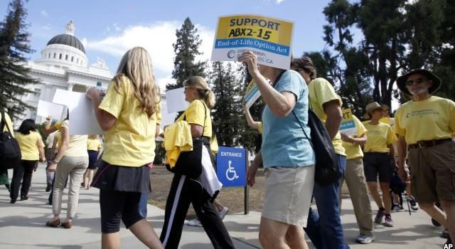 Thống đốc bang California phê chuẩn dự luật về quyền được chết