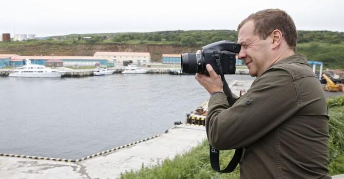 Ông Medvedev là blogger nổi tiếng nhất trong số các chính trị gia Nga