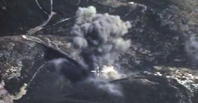 Máy bay Nga triệt hạ đơn vị pháo của IS ở Syria