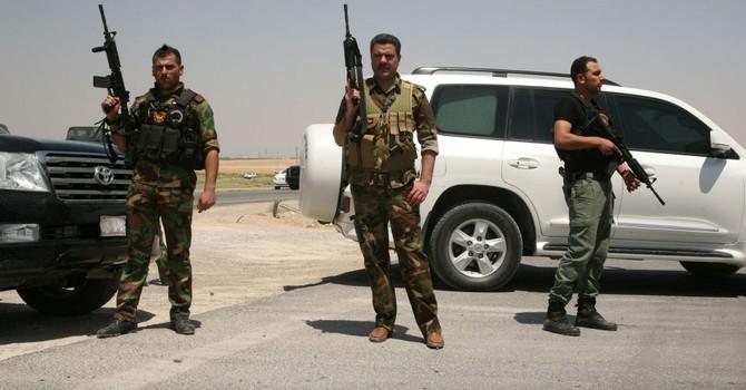 Lính Iraq hoan nghênh Nga và Iran trong cuộc chiến chống IS