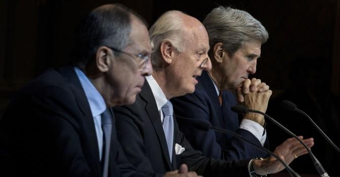"""Ông Lavrov: """"Nga và Mỹ quyết không cho IS cướp chính quyền Syria"""""""