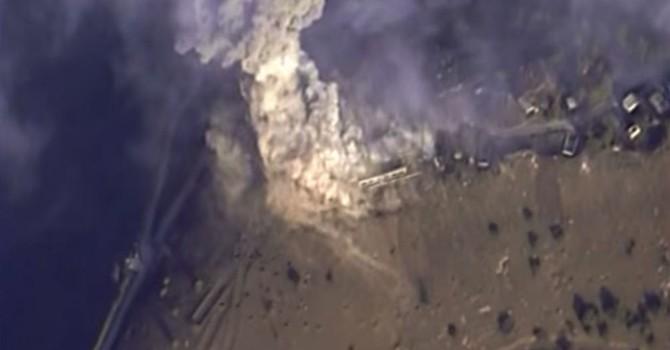 Không lực Nga dùng bom xuyên phá bê tông hạ IS ở Syria