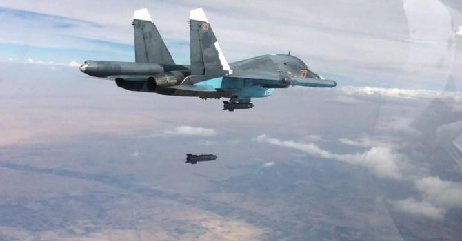 Không quân Syria và Nga: Khác tuyến bay, chung kẻ thù
