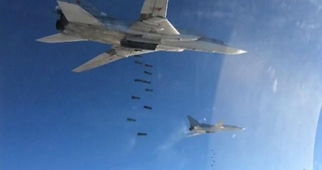 Nga không kích quy mô lớn vào IS ở Syria
