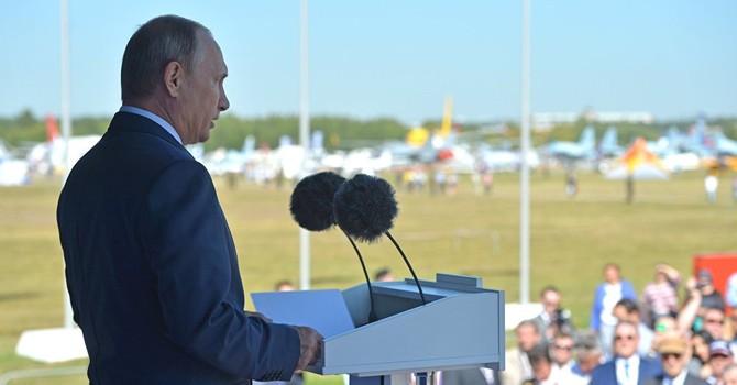 Uy tín ông Putin lên cao nhất trong lịch sử tại Nga