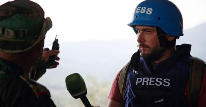 Xe chở các nhà báo Nga bị bắn bằng tên lửa chống tăng ở Syria