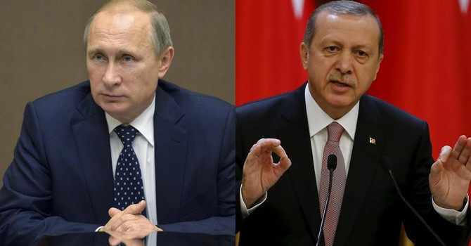 """Tổng thống Nga - Thổ Nhĩ Kỳ có thể """"bài ngửa"""" vụ Su-24 tại Paris"""