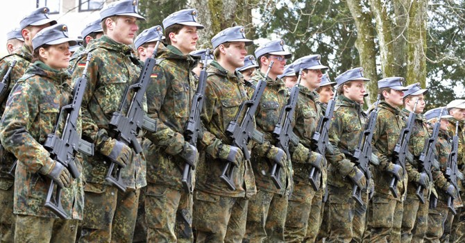 Báo Nga: Quân đội Đức đến Syria với mục đích gì?